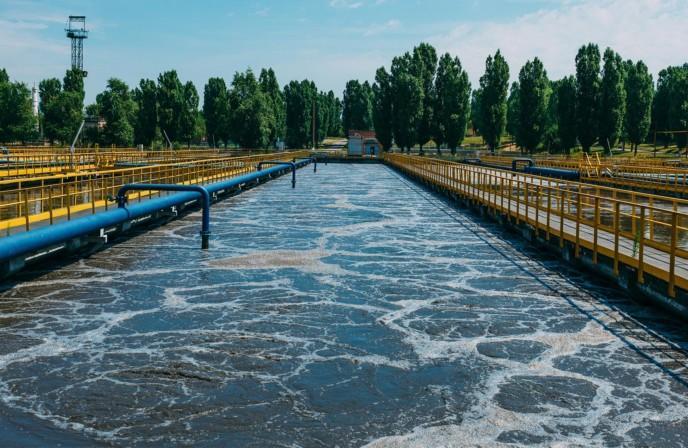Jätevedenpuhdistamon prosessiallas